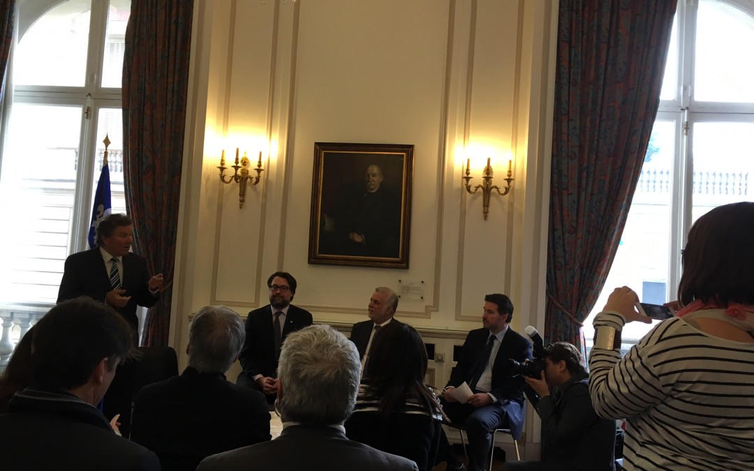 Le Comité 21 Québec invité à la Délégation générale du Québec à Paris