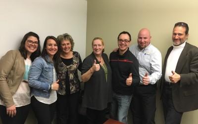 L'équipe de projet développement durable de Rigaud rencontre ses mentors