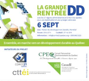 Grande_rentrée_DD_Initiateurs_du_projet_Forum 6 sept16_Mobilisation_Québec