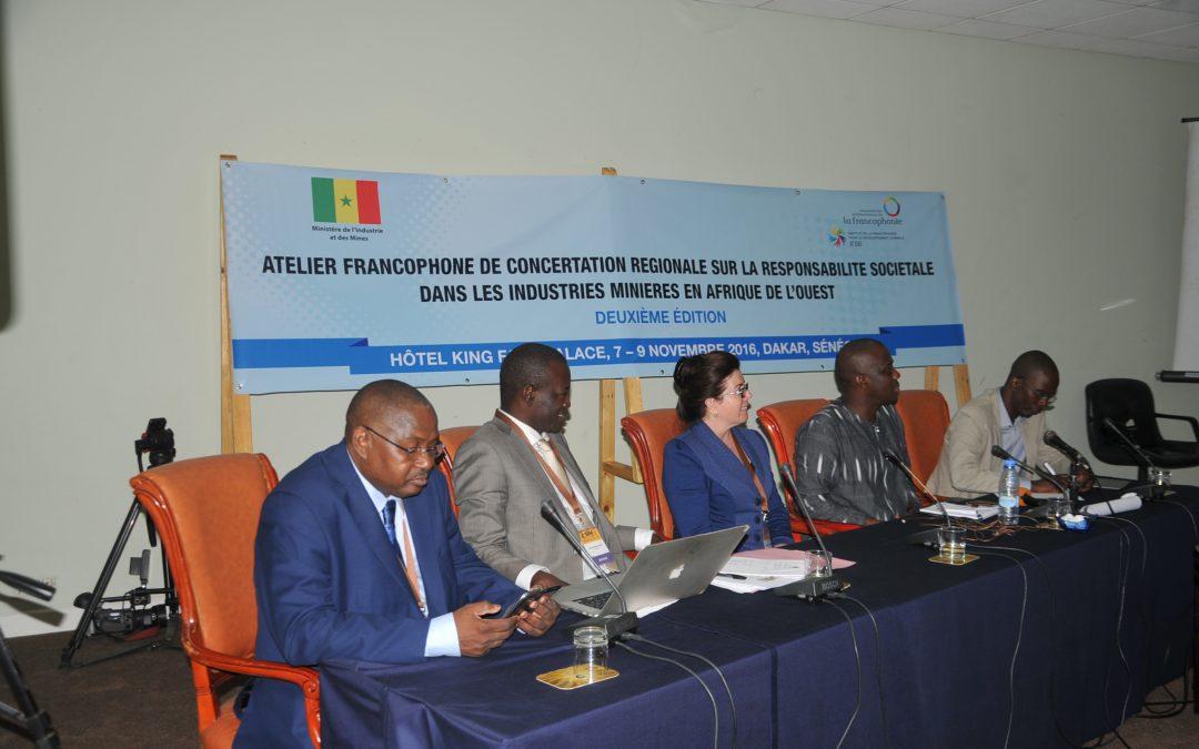 Ateliers de concertation régionale en Afrique de l'Ouest et en Afrique centrale