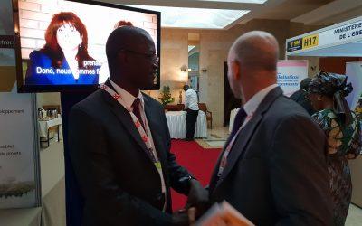 Lancement de la trousse d'information pour un secteur minier responsable au Sénégal lors du Salon international des mines à Dakar