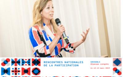 La cofondatrice du Comité21 Québec, Karine Casault, invitée à intervenir lors des Rencontres nationales de la participation citoyenne à Grenoble, le 13 mars