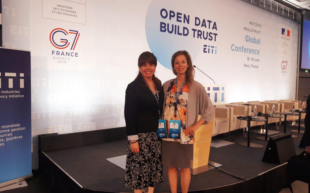 Le Comité 21 Québec invité à la conférence mondiale de l'Initiative sur la transparence dans les industries extractives