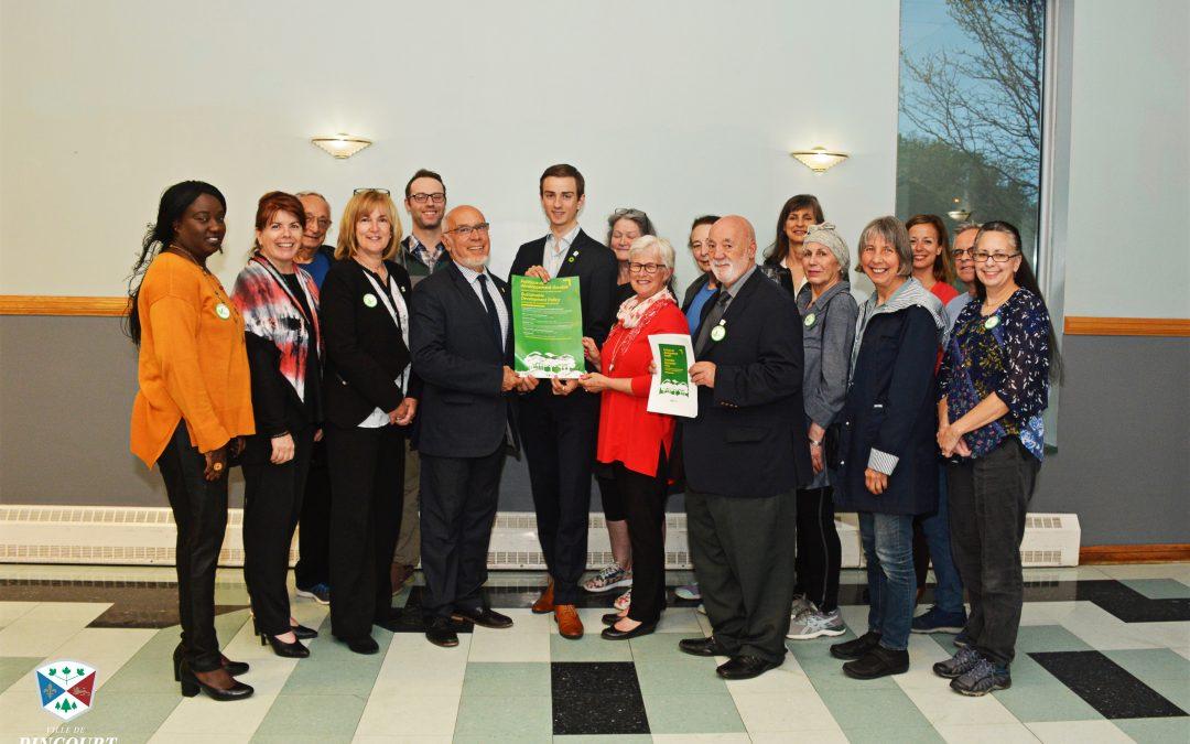 Lancement d'une première Politique de développement durable à la ville de Pincourt