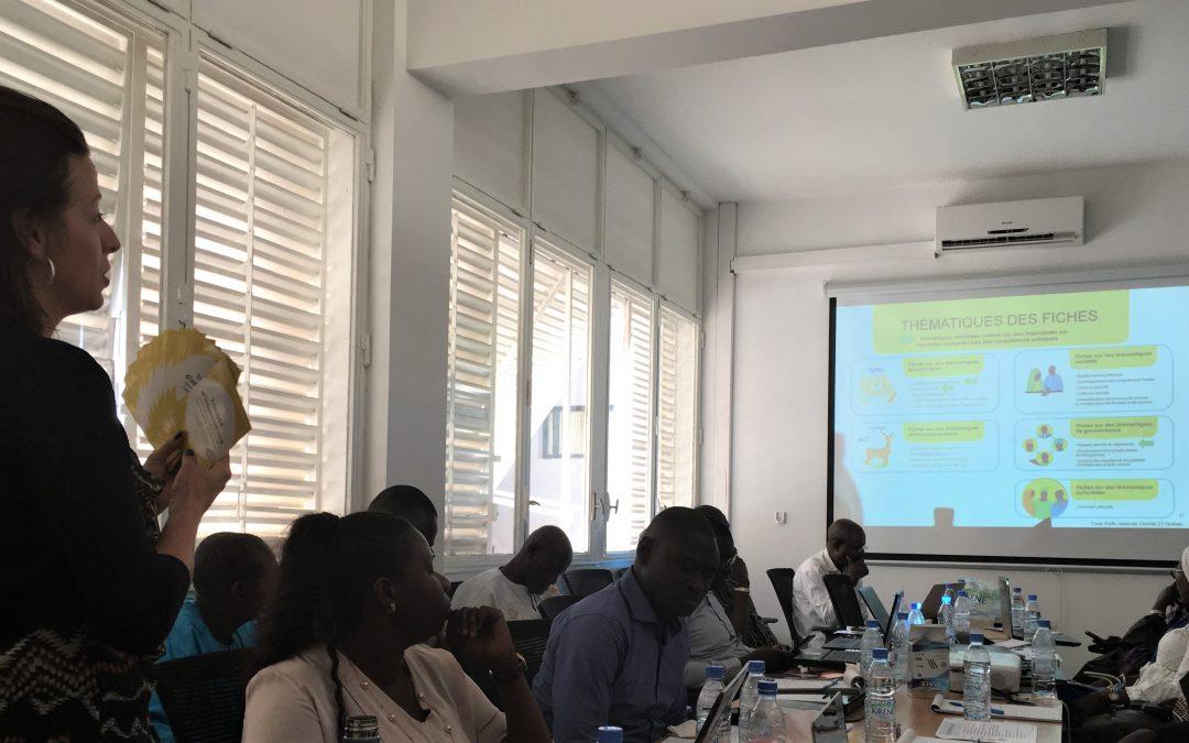 Formation des formateurs pour la Trousse d'outils pour un secteur minier responsable au Sénégal