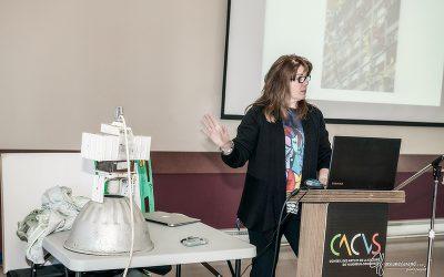 Atelier de maillages « Écoproduction artistique » organisé conjointement par le Conseil des arts et de la culture de Vaudreuil-Soulanges (CACVS) et le Comité 21 Québec